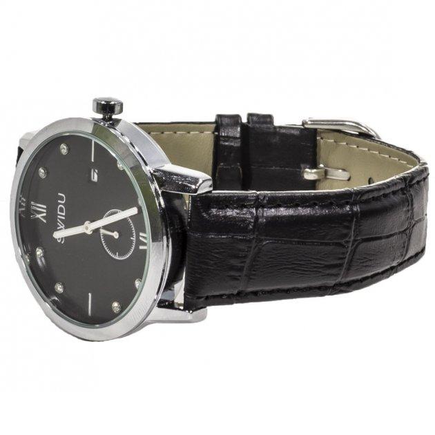 Мужские часы Swidu SWI-018 Black (3088-8707) - изображение 1