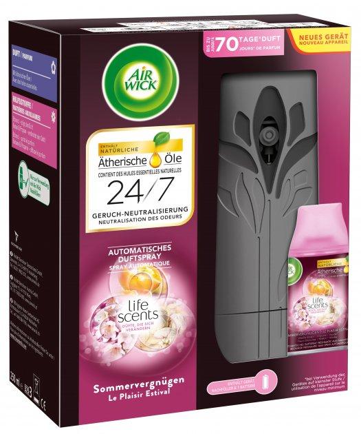 Автоматический освежитель воздуха Air Wick Freshmatic Life Scents Королевский десерт (5900627060348_4002448109464) - изображение 1