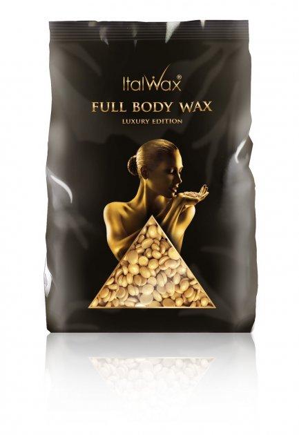 Воск горячий в гранулах ItalWax Full Body Wax 1 кг (010) - изображение 1