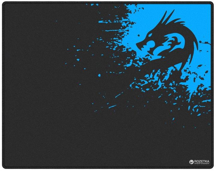 Игровая поверхность Protech Dragon 300x250 мм Black/Blue (PR-1478) - изображение 1
