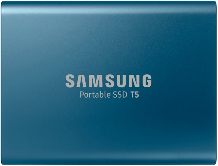 Samsung Portable SSD T5 250GB USB 3.1 Type-C V-NAND TLC (MU-PA250B/WW) External - зображення 1