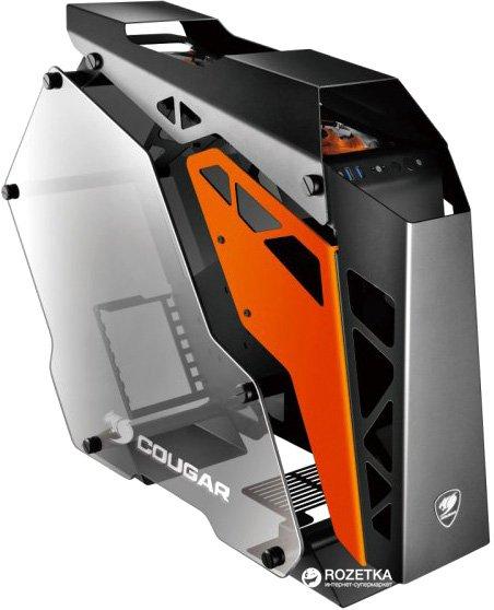 Корпус Cougar Conquer Black/Orange - изображение 1