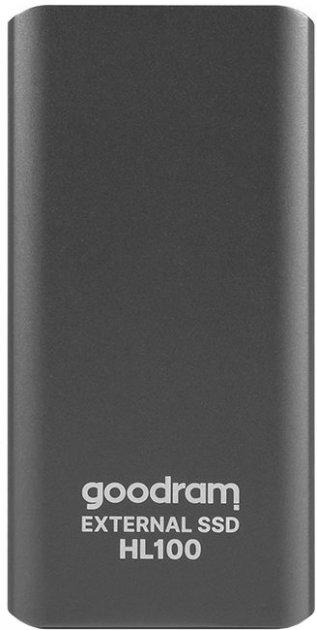 Goodram HL100 512GB USB 3.2 Type-C TLC Black (SSDPR-HL100-512) External - изображение 1