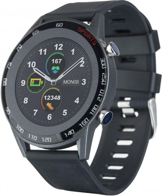 Смарт-часы Globex Smart Watch Me2 Black - изображение 1
