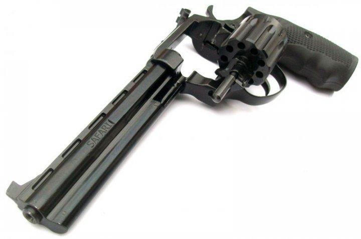 Револьвер под патрон Флобера ЛАТЭК Safari 461м пластик - изображение 1