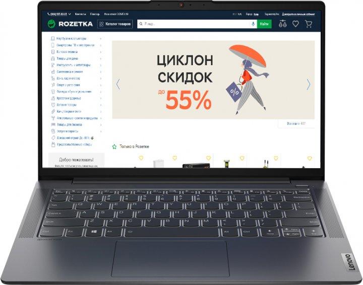 Ноутбук Lenovo IdeaPad 5 14ITL05 (82FE00FMRA) Graphite Grey - зображення 1