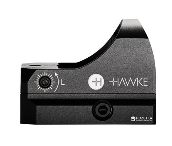 Коліматорний приціл Hawke RD1x WP Digital Control 3 MOA Weaver (925033) - зображення 1