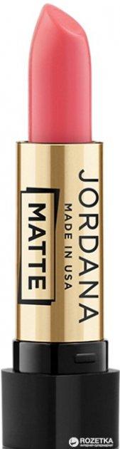 Матовая помада Jordana Matte Lipstick Matte Blazing Mango MG-62 3.4 г (041065380621) - изображение 1