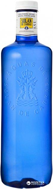 Упаковка воды минеральной негазированной Solan de Cabras 1.5 л х 6 бутылок (8411547001085) - изображение 1