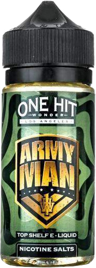 Рідина для електронних сигарет One Hit Wonder The Army Man 3 мг 100 мл (Лайм + крем) (OHW-TAM-100-3) - зображення 1