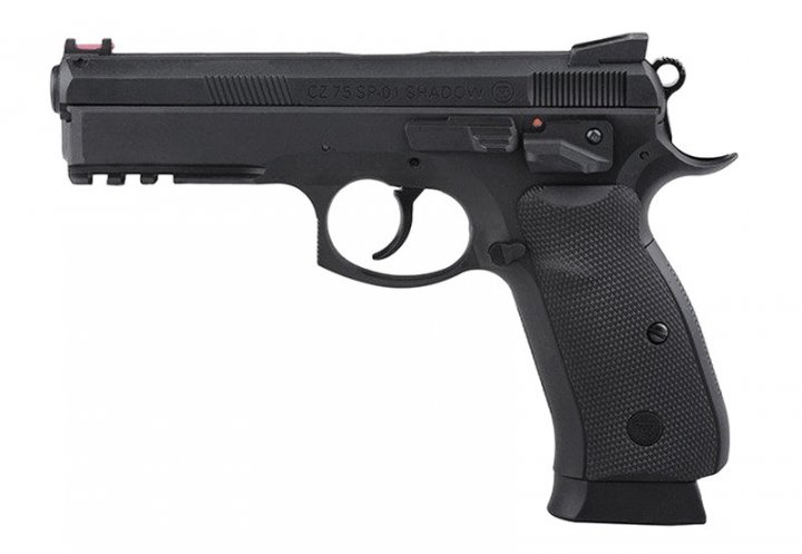 Пневматический пистолет ASG CZ SP-01 Shadow - изображение 1