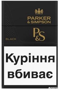 купить сигареты parker simpson black