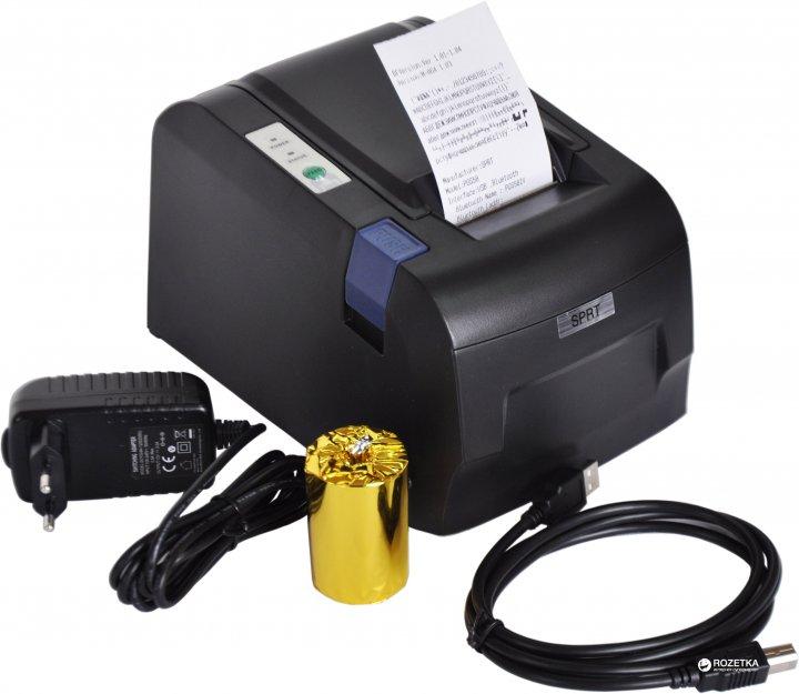 POS принтер SPRT SP-POS58IVUBT USB + Bluetooth