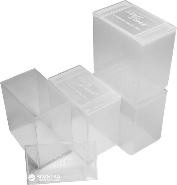 Коробка МТМ SS25 для патронов 12 к на 25 патр. 4 шт Прозрачная (17730899) - изображение 1
