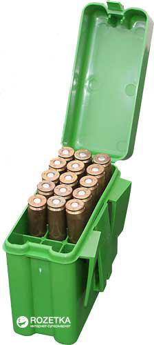 Кейс МТМ R-20 для патронов 308win, 30-06 на 20 патр. Зеленый (17730497) - изображение 1