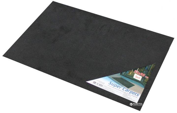 Придверный коврик Киевгума Soft 55x80 Черный (A90160000080454) - изображение 1