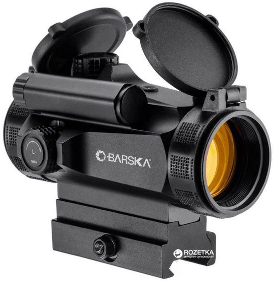 Коліматорний приціл Barska AR-X Red Dot 1x30 mm HQ (Weaver/Picatinny) (925762) - зображення 1