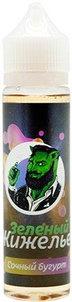 Рідина для електронних сигарет Зеленый Жижелье Соковитий бугурт 0 мг 60 мл (Виноград + яблуко + мармелад) (GG-SB-0) - зображення 1