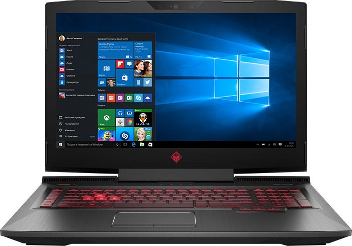Ноутбук HP Omen 17-an133ur (4PN19EA) Black - зображення 1