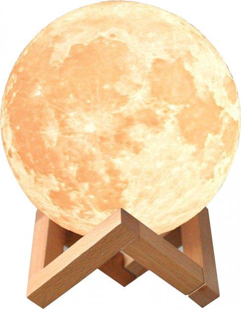 Настольный светильник UFT Magic 3D Moon Light Touch Control Луна 15 см (uftlampmoon3d) - изображение 1