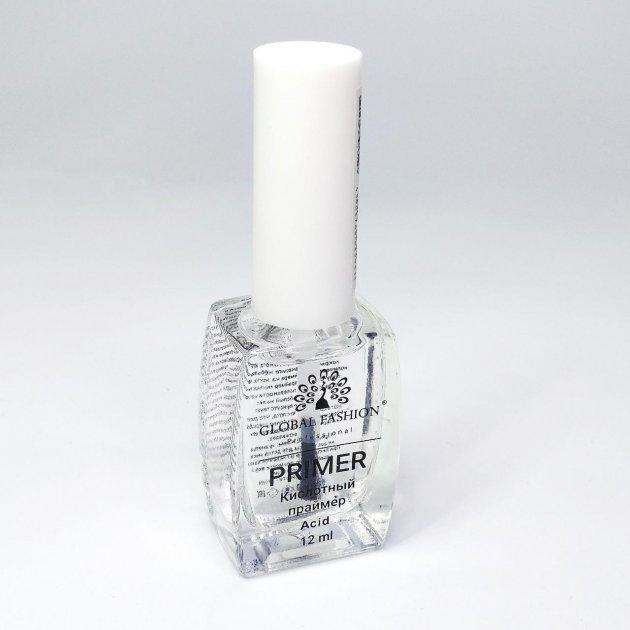 Праймер кислотний для нігтів Global Fashion 12мл - зображення 1