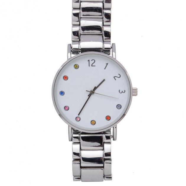 Жіночий наручний годинник EvenOdd YP5YY Silver PPU-189112 - зображення 1