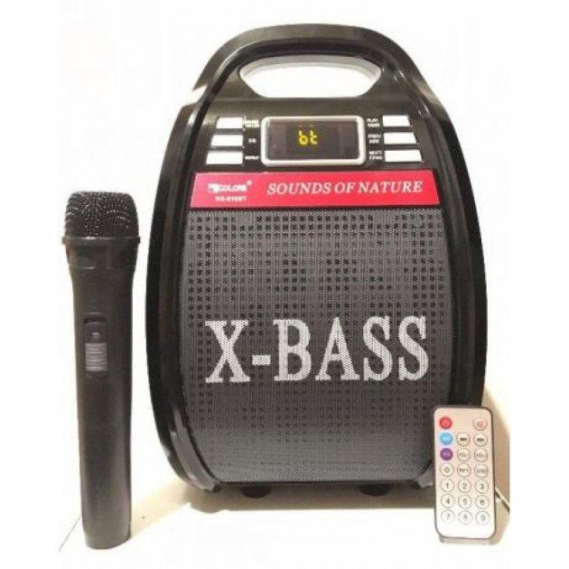 Колонка з радіомікрофоном Golon 810BT (USB/Bluetooth/FM/акумулятор) (7075to) - зображення 1