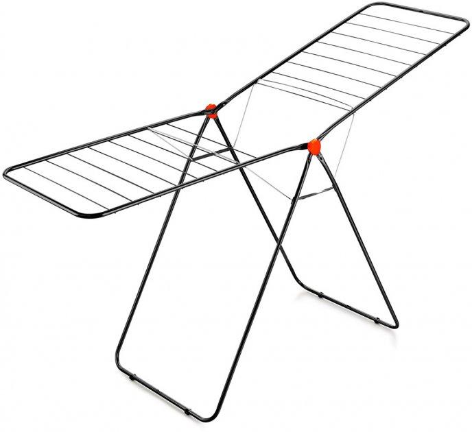 Сушка для белья Dogrular Fly 11.5 м Черная (17106) - изображение 1