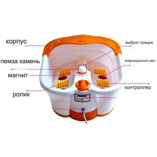 Гідромасажна ванночка для ніг Multifunction Footbath Massager - зображення 1