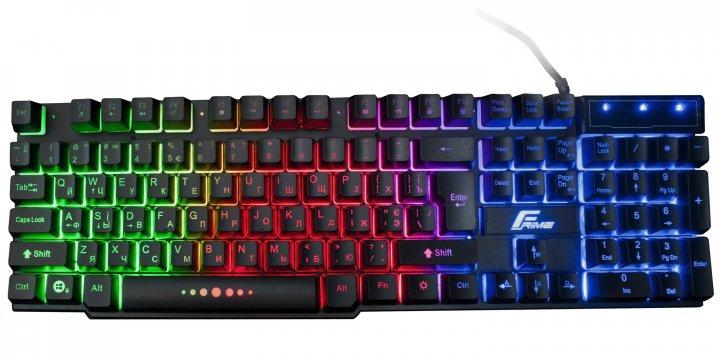 Клавиатура проводная Frime Firefly USB (FLK18100) - изображение 1