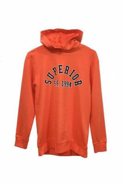Худи H&M 0582053 158-164 СМ Оранжевый 58845 - изображение 1