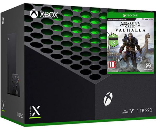 Microsoft Xbox Series X 1Tb + Assassin's Creed Valhalla\Вальгалла (російська версія) - зображення 1