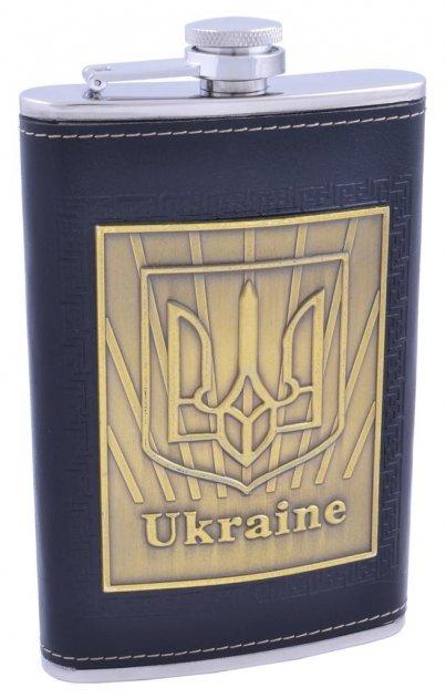 Фляга из нержавеющей стали Ukraine №QT-10 Moongrass - изображение 1