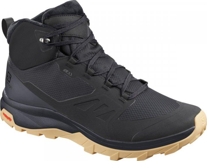 Ботинки SALOMON OUTsnap CSWP 41 (7,5 UK) 26см черный s411100-7,5 - изображение 1