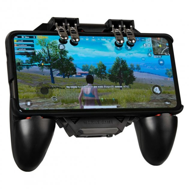 Беспроводной геймпад Gelius GP-GT003 для смартфона, 4 триггеры, 1200 mAh Black - изображение 1