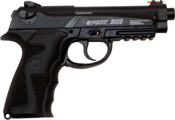 Пистолет пневматический Borner 306 4.5 мм (8.3040) - изображение 1
