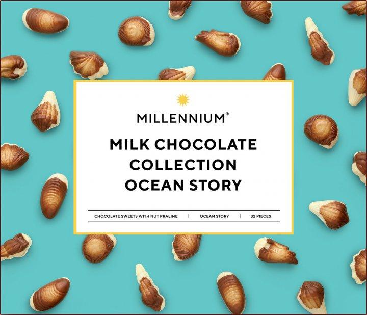 Конфеты Millennium Истории Океана с ореховым пралине 340 г (4820075500085) - изображение 1