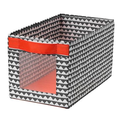 Коробка IKEA ANGELÄGEN 25x44x25 см різнобарвна 604.179.39 - зображення 1