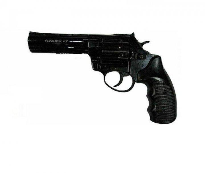 Револьвер под патрон флобера Ekol Major Berg 4,5 (черный) - зображення 1