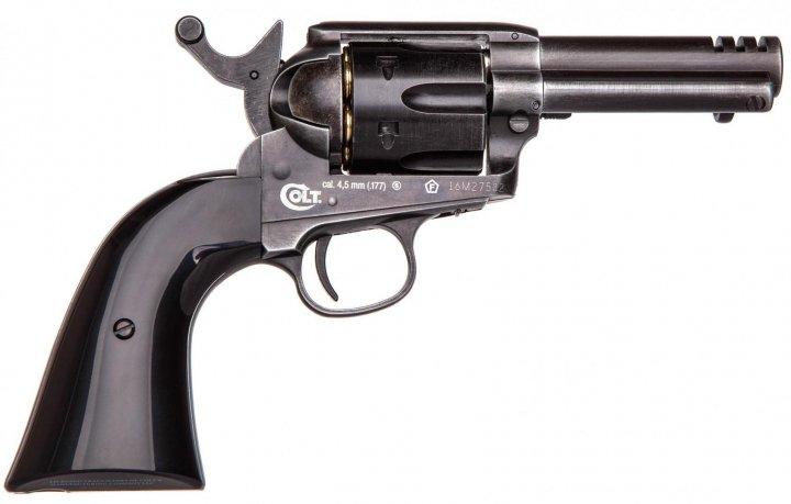 """Пистолет пневматический Umarex Colt SAA .45-3,5"""" Custom Shop Edition - зображення 1"""