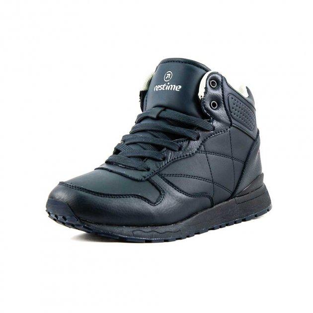Ботинки зимние мужские Restime PMZ18148 синие (43) - изображение 1