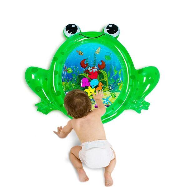 Водный коврик - лжебассейн SUNSHINE «Лягушонок» Зеленый 93x77см SL001-37 - изображение 1
