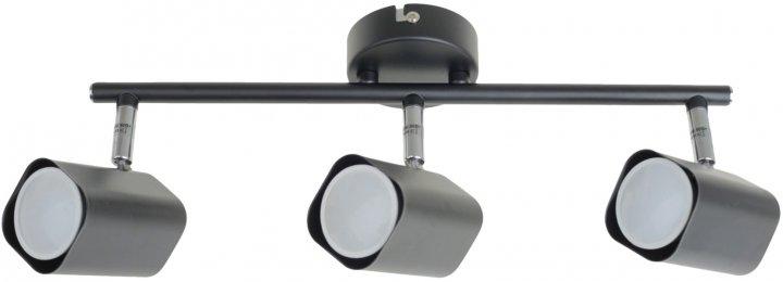 Светильник спотовый Brille HTL-213/3 GU10 BK (29-238) - изображение 1