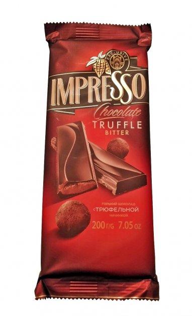 Шоколад Спартак Impresso Truffle с трюфельной начинкой 200 г - изображение 1