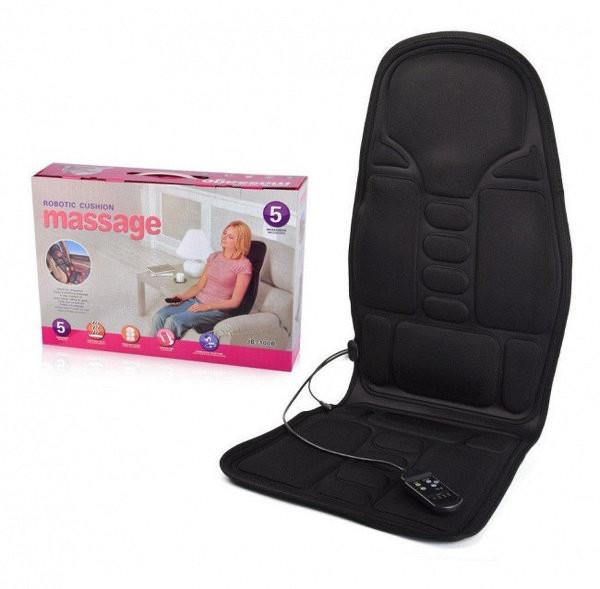 Массажная вибрационная накидка в авто, на кресло Massage Robotic Cushion - изображение 1