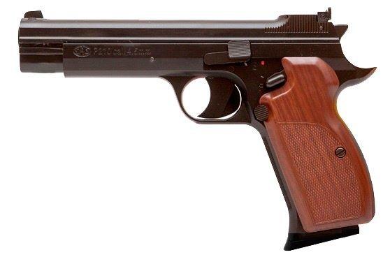 Пневматичний пістолет SAS P210 Sig Sauer P210 Зіг Зауер рухомий затвор газобалонний CO2 120 м/с - зображення 1