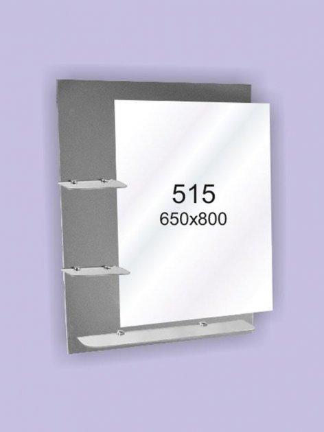 Зеркало для ванной комнаты 650х800 Ф515 - изображение 1