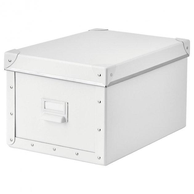 Контейнер для зберігання IKEA FJÄLLA 25x36x20 см білий 603.956.83 - зображення 1