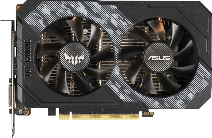 Asus PCI-Ex GeForce RTX 2060 TUF Gaming OC 6GB GDDR6 (192bit) (1710/14000) (DVI, 2 x HDMI, DisplayPort) (TUF-RTX2060-O6G-GAMING) - зображення 1