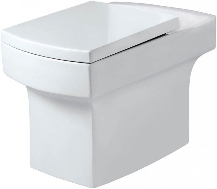Унитаз-компакт JAQUAR Fonte FNS-WHT-40751P180UFSM без бачка с сиденьем Soft Close дюропласт - изображение 1